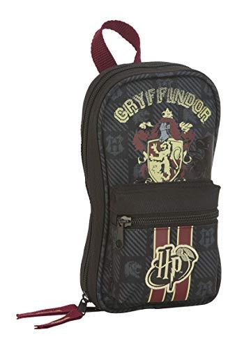 Safta - Plumier Mochila de Harry Potter Oficial Gryffindor sin Productos en el Interior