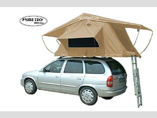 Preisvergleich Produktbild Prime Tech Autodachzelt WASTELAND XXL 240x180x130 cm in beige