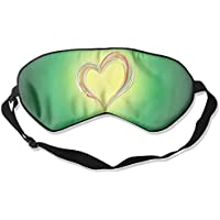 Heart Love Drawing Sleep Eyes Masks - Comfortable Sleeping Mask Eye Cover For Travelling Night Noon Nap Mediation... preisvergleich bei billige-tabletten.eu