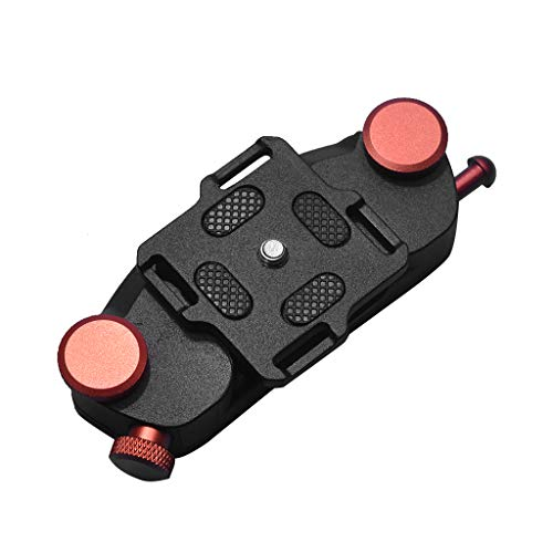Digitale Slr-holster (FlYHIGH Kamera Taille Spinne Gürtel Button Mount Clip 1/4