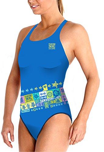 Swim Secure Badeanzug Frau EIN Stück Polynesia Widerstand PBT 55% und Polyester 45% (S)