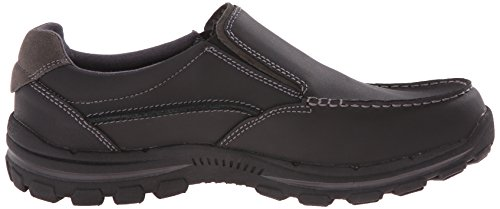 In Coraggioso on Rayland Mens Loafer Nera Slip Usa Skechers Pelle Tw1OxvqP
