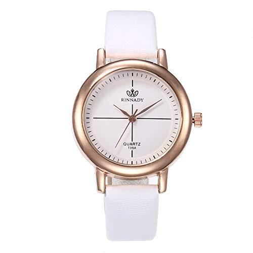 XZDCDJ Damen Uhr Armbanduhr Quarzuhr High-End Blue Glass Life Waterproof Distinguished Jungen Uhr