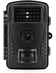 WildKamera Aoleca HD Wildlife Kamera IP54 Wasserdichte Breite Vision Jagd Trail Kamera und 20m Nachtsicht mit IR LEDs und Bewegungserkennung ideal für Wildbeobachtung, Spiel, zur Überwachung und zum Auskundschaften 1 Jahr Produkt Garantie