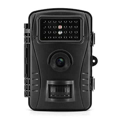 Trail Camera, Aoleca Wildlife Surveillance Game & Hunting Camera Waterproof HD 2.4