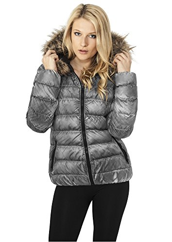 urban classics donna giacca invernale Spray Dye - L, Grey