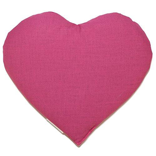 Körnerkissen Herz | ca. 30x25cm pink