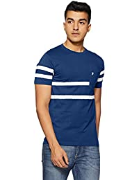 French Connection Men's Striped Slim Fit T-Shirt