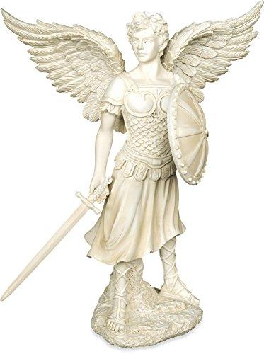 Unbekannt Angelstar Michael Erzengel Figur, 9-1/4-Zoll hoch -