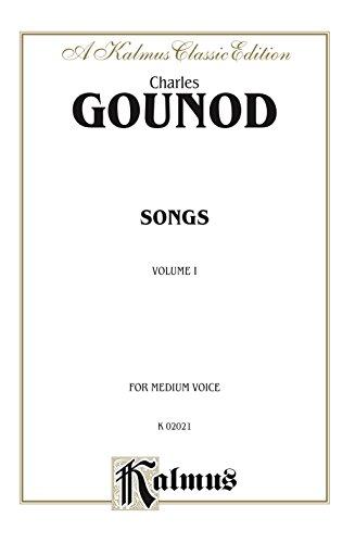 Livre gratuits Songs, Volume I: For Medium Voice epub pdf