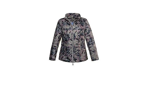 Ulla Popken Womens Plus Size Lightweight Quilted Jacket 717269