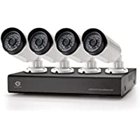 "Conceptronic 4-Channel AHD CCTV Surveillance Kit - Video Surveillance Kits (Wired, Bullet, BNC, Indoor/outdoor, CMOS, 25.4 / 4 mm (1 / 4"")) - Confronta prezzi"