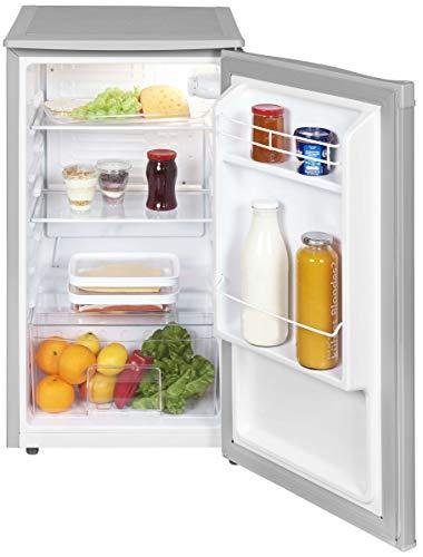 Kühlschrank Kompakt ohne Gefrierfach A+ 45cm Breit 82 Liter Nutzinhalt Grau