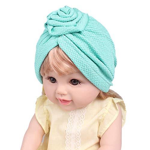 Kopftuch Mädchen Baby Beanie Mütze mit Bow Mädchen Hut Baumwolle Kappe Hüte Babymütze Baby Mädchen Mütze Neugeborenenmütze Requisiten Schießen