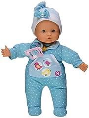 Idea Regalo - Famosa 700012663 - Nenuco Bambola che Piange, 30 cm, Azzurro