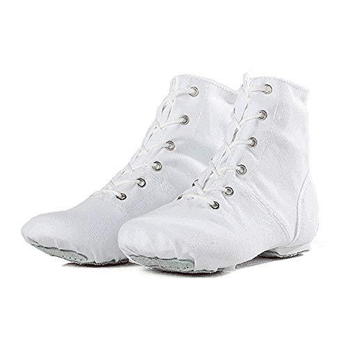 iefel aus Canvas mit Schnürung und hoher Schaftspaltleder-Schuhsohle für Mädchen, Kinder, Frauen, Männer (41 EU) ()