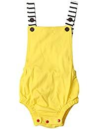 Bebé Mono SMARTLADY Verano Unisex Bodies Ropa para 0- 24 meses Niño Niña