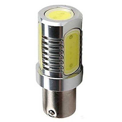 BA15D 1157 Mini BC Bayonet Base Fitting Tower COB LED Light Bulb AC DC 12V 12 Volt Chip On Board Replacement for 21W…