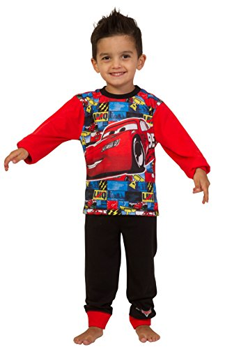 Image of Disney Cars Pyjamas 2 to 7 Years Mcqueen Cars Pyjamas Disney Long Cars PJs W16 (4-5 Years)