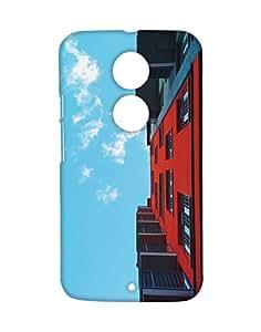 Mobifry Back case cover for Motorola Moto X 2nd generation Mobile ( Printed design)