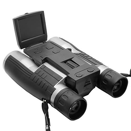 telescopio HD Fotocamera Sport Digitale, 12x32 ingrandimenti Mini Pieghevole compatta, 1080P Macchina Fotografica Selvaggia
