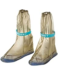 LUFA 1 Par de Cubierta de Zapatos Impermeable de Mujeres Lluvia Antideslizante Sobrecalzado Bota de PVC(Sin incluir zapatos)