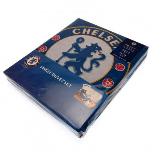 UKSoccershop Chelsea F.C. Single Duvet Set PL