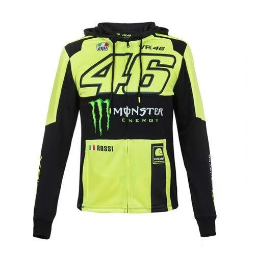 41ZL%2B3xTMGL. SS500  - VR46 Valentino Rossi 2018 Monster Hoodie Yellow