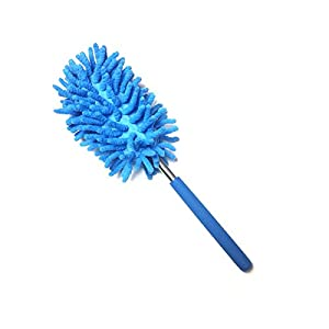 Pinmaoo Ostrich Feathers Ostrich Feather Duster with Beech Handle Cleaner Dust Cleaning Clean Ostrich Feather Duster