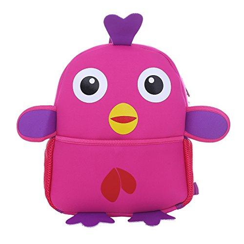DonDon Zaino per bambini unisex con pulcino pink 33 x...