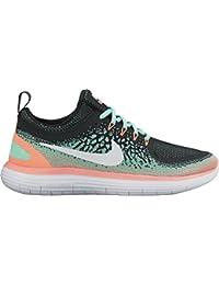 best service e1c46 eae64 Nike Women s Free RN Distance 2 Running, Scarpe Sportive Indoor Donna