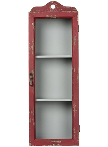 Sullivans Distressed Shadow Box, rot, 77,5cm L x 27,9cm W x 12,7cm D (Holz-shadow Box Rustikale)