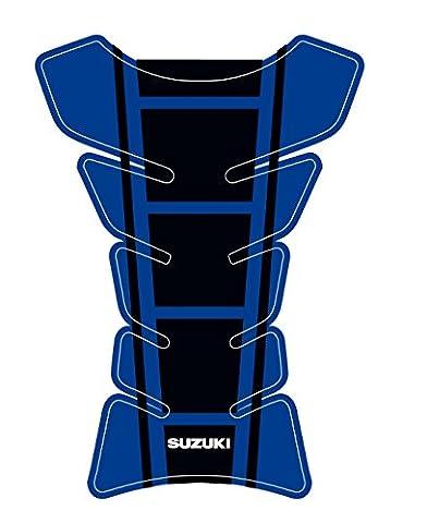 Suzuki Universal Protective Fuel Tank Pad for Motorbikes Blue