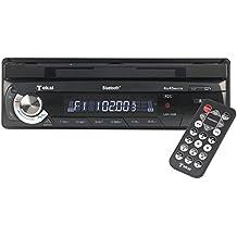 TOKAI - LAR100B -  AutoRadio Bluetooth - Support Smartphone -RDS - MP3  - USB  - SD - 4x45 W Noir