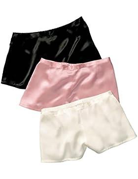 Jasmine Silk classica da donna, in seta francese mutandine, Boxer per uomo, taglia XL, colore: rosa