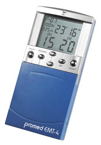 Promed EMT-4 Reizstromgerät, Kombigerät, elektrische Nerven- und Muskelstimulation, Digitales EMT/TENS Gerät