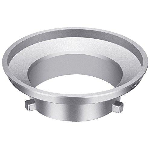 Neewer Softbox Speed Ring Adapter für Bowens Monolight Flash und weich Box-Aluminium Legierung, 9,7cm/9,6Zentimeter Innendurchmesser und 15cm/15Zentimeter Durchmesser