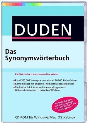 DUDEN Das Synonymwörterbuch