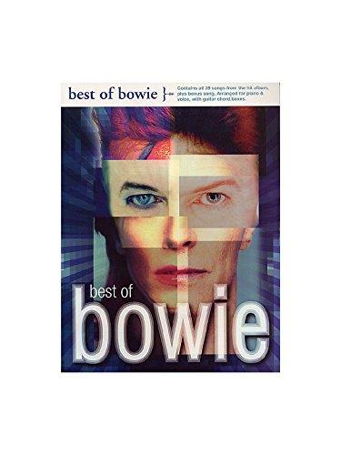 Best Of Bowie. Partitions pour Piano, Chant et Guitare(Boîtes d'Accord)