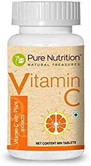 Pure Nutrition Vitamin C with Natural Amla and Orange Peel Extract, Antioxidants rich with immunity support, 6