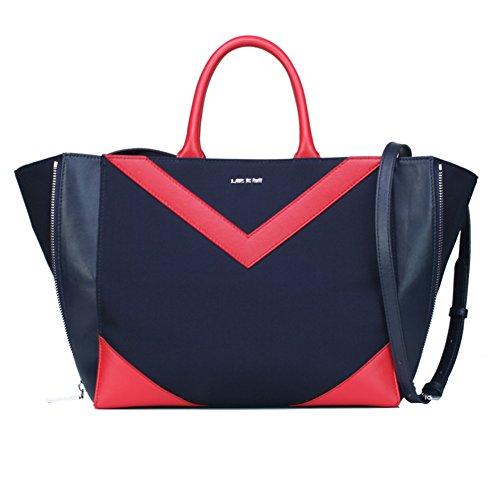 Messenger bag/lady nylon oxford cloth borsetta/ol borsa canvas commute-blu marino blu marino