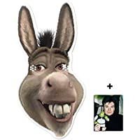 cd8ca788 Mask Pack - Donkey from Shrek Single Card Mask - includes 6x4 inch (15cm x