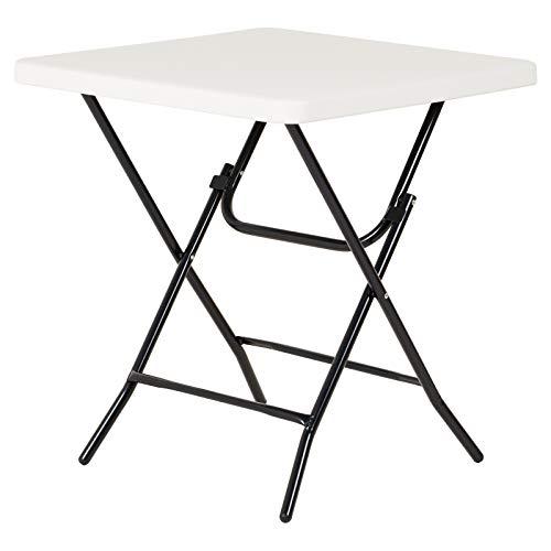 Hartleys Table Pliante Carrée Pratique de 68.5cm - Convient pour Une Utilisation en intérieur ou en extérieur