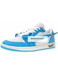 new product e86e4 68603 Baskets Classic Sneakers Zapatillas de Moda Running Zapatos Deportivos  Baloncesto Casual Zapatillas de Fútbol Hombre Blanco