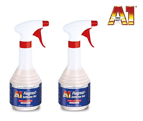 PREMIUMPRODUKT 1 Liter (2 x 500 ml) A1 Dr WACK Auto FLUGROST-ENTFERNER Flugrostentferner Rostlöser