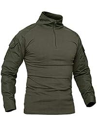 Amazon Camisetas Polos Verde Y Color es Hombre Caza g6rMwS6F8q