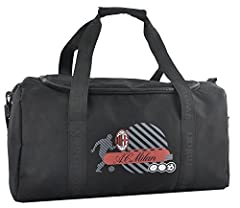 Idea Regalo - AC Milan Borsa Sport Palestra Ufficiale PS 07846 Borse Calcio