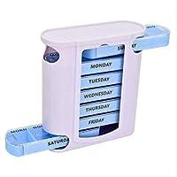 7 TAG Wöchentliche Pille Organisator Stacking Tower Large 4 Daily Fächer Tablet Box preisvergleich bei billige-tabletten.eu
