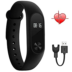 Xiaomi Band 2,Mi band 2 Smart Wristband With OLED Display Calculation Steps Heart Rate Waterproof Wireless Bluetooth 4.0 Wristband Monitor Fitness Tracker