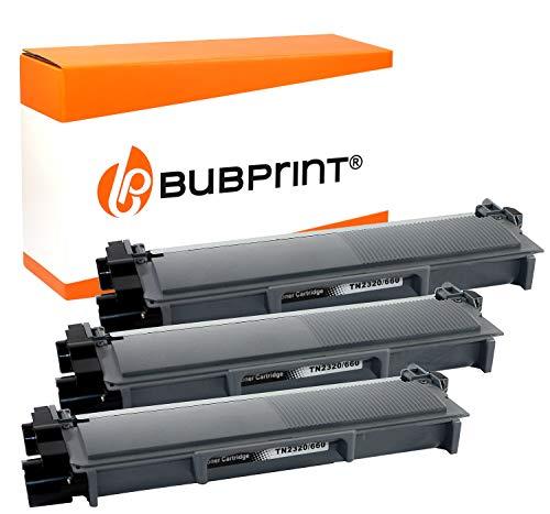 Bubprint 3 Toner compatibile per TN 2320 TN-2320 TN-2310 per DCP-L2500D DCP-L2540DN MFC-L2700DN MFC L2700DN MFC L2700 DW MFC-L2720DW MFC-L2740DW nero
